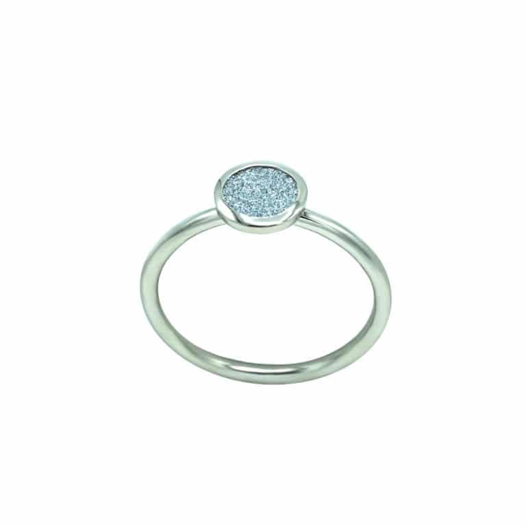 Platin Ring Osmium Diamond
