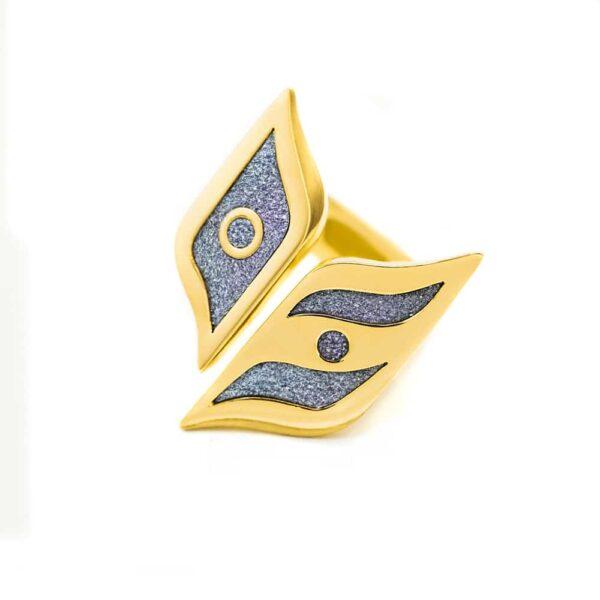 Gold Ring Snitch Osmium Schmuck