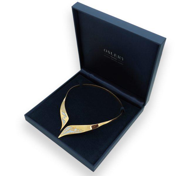Osmium Collier Gold