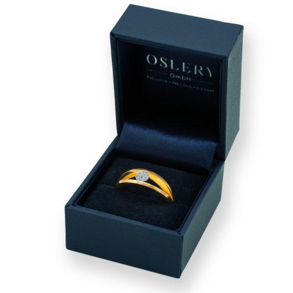 Oslery Schmuck Osmium Ring Gold