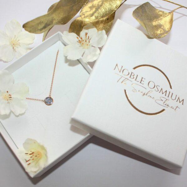 Gold Kette Osmium Schatulle