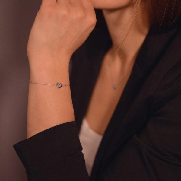 Platin Armband Noble Osmium
