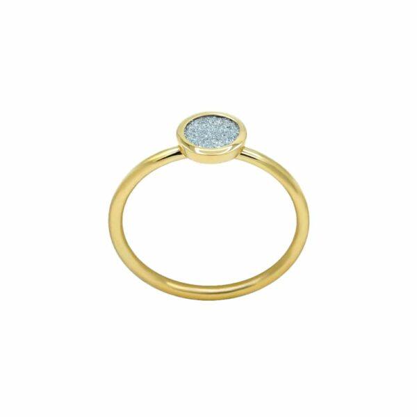 Osmium Ring Ronde Roségold